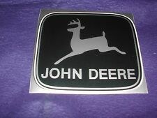 4 JOHN DEERE DECALS IN FOUR DIFFERENT COLORS MEASURE 4 3/8 X 3 7/8