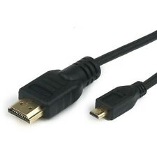 Micro HDMI TV Video Cable Cord For Sony Cybershot DSC-HX300 v DSC-HX50 v Camera