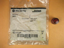 Allen Bradley  800T-N122R  Small Pilot Light Cap Red