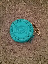 Bebe Teal Clutch/small Handbag
