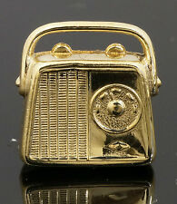9Carat Yellow Gold Radio Charm (Approx 14x15mm)