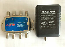 Eagle Aspen 3x4 Multiswitch & Power Adaptor Brand new