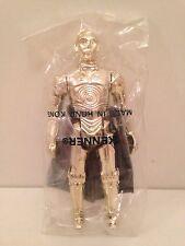 Vintage Kenner STAR WARS Baggie C3PO 1984 ROTJ MISB Mailer Bag Mint AFA Empire