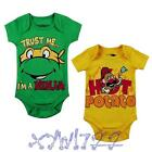 New cool baby boys bodysuit one-piece baby summer clothes bodysuit 0-12 Months