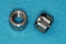 21-0692-cyl 3/8 Cycle 26 tpi 12 point Stainless Nut Triumph BSA x 2