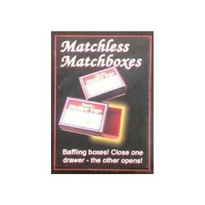 Matchless Matchboxes - Royal Magic by Fun, Inc - Great Beginner's Magic