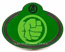 NEW Disney Cast Member Exclusive Marvel Avengers What's My Name Badge HULK Pin
