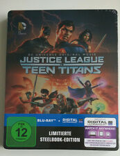 Justice League vs. Teen Titans  | Limited Blu-Ray Steelbook DC Universe NEU NEW