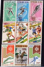 Petit lot de timbres MALI  CA39