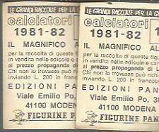 FIGURINA CALCIATORI PANINI 1981 82- NUOVA - CAGLIARI  62- MARIO BRUGNERA