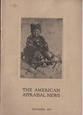 Dec 1927 issue American Appraisal News Magazine