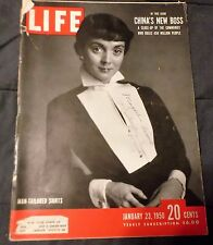 LIFE MagazineJanuary 23, 1950 China's New Boss Man-Tailored Shirts OK Cond