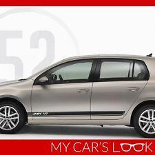 Volkswagen Golf MK 6 side stripes door panel graphics decal