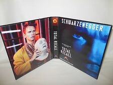 Custom Made Total Recall Movie Trading Card Binder Graphics Only