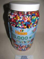 Hama 211-00 Perlas midi en Vollton Colores Contenido 13000 pieza nueva