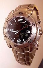 Florida Keys Time Watch Analog/Digital /Sapphire Crystal/ 100M WR/Titanium Band