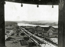MOSCOW GORKY PARK Panorama! RARE 1920s HIGH-ANGLE PHOTO! Antique RUSSIA Historic