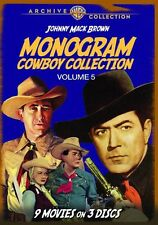 MONOGRAM COWBOY COLLECTION 5 - (1943 Johnny Mack Brown) Region Free DVD - Sealed