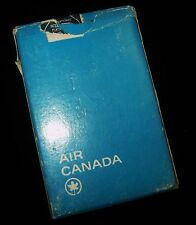 Vintage Blue Deck CANADA AIR Airlines Poker Playing Cards Maple Leaf