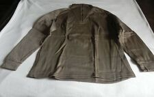 US Military Specifications Polypropylene Underwear Top Zpr Neck Sz XL Brown
