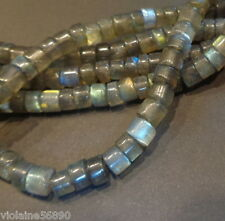 LOT de 30 PERLES PIERRE NATURELLE INDE 6 mm LABRADORITE NATURAL STONE BEADS ASIA