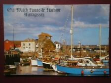 POSTCARD CORNWALL MEVAGISSEY - OLD WATCH HOUSE & HARBOUR