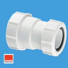 "McAlpine Multifit Reducer Coupler For 1-1/2"" x 1-1/4"" Waste Pipe Connector ST28M"