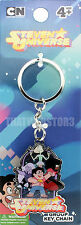 Steven Universe The Crystal Gems Metal Keychain ~ Officially Licensed ~BRAND NEW