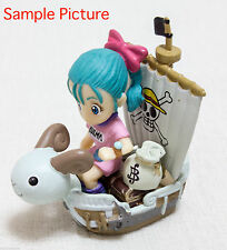 Dragon Ball Z x One Piece 40th Dream Fusion Mini Figure Bulma JAPAN ANIME