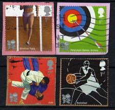 2010 - Olympic self adhesive booklet stamps. Books 1 & 2 - FU