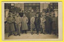 cpa CARTE PHOTO PARIS 1921 Militaires Soldats 2, 38 et 83eme Régiment Médailles