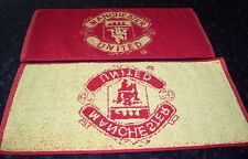 MANCHESTER UNITED  Bar Towel 100% Cotton FREE POST UK
