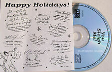 TORI AMOS CD Little Drummer Boy USA PROMO ONLY SIGNED Insert You Sleigh Me 9 Trk