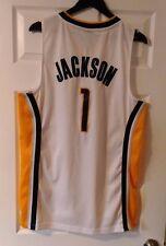 NBA-Reebok-Indiana Pacers-Stephen Jackson #1 Jersey- Men Size M