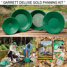 Garrett Gravity Trap DELUXE Prospecting Mining GOLD PANNING KIT With DVD & GUIDE