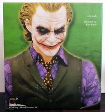 "Heath Ledger JOKER 9"" RESIN BUST 1:4 Scale MIB Rick Force Sculpt Batman"