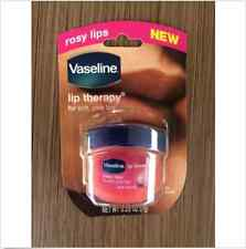 Vaseline Lip Therapy Rosy Lips .25 OZ NEW Balm Jar Soft Pink Moisturizing