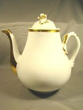 Old Paris Porcelain Second Empire Acorn & Branches Tea Coffee Pot  c1850-1870