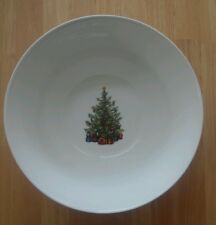 Large Christopher Radko Traditions Holiday Celebrations Christmas Serving Bowl