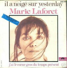 MARIE LAFORET 45 TOURS BELGIQUE IL A NEIGE (BEATLES)