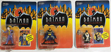 BATMAN THE ANIMATED SERIES : JOKER, PENGUIN & BATMAN FIGURINES BY ERTL (TK) (SC)