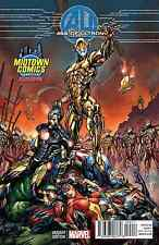 MARVEL AGE OF ULTRON 1 RARE MIDTOWN EXCLUSIVE COLOR VARIANT CAMPBELL MOVIE 2015