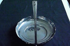 Viceroy Vintage Silver Plate Handled Dish, Bowl, Sweets, Bon Bons, Nuts, Fruit