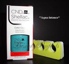 CND Shellac Aqua-intance LED/UV Gel Polish .25oz New With Box +BONUS!