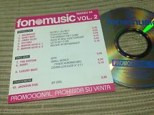 V/A FONOMUSIC CD SPAIN PROMO JACKSON 5 MICHAEL MAGNAPOP QUIET RIOT MARVIN GAYE
