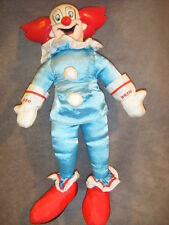 BOZO THE CLOWN  PLAY  1995 Larry Harmon Pictures Inc SOFT DOLL PLASTIC HEAD