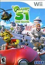 Planet 51: The Game  (Nintendo Wii, 2009) Fast Shipping!
