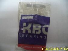 KBC 6201 Single Row Double Shield Bearing