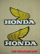 Honda Z50 XL70 XL80 XL100  XL125 XR75 XR80 XR100 Gas Tank Decal Sticker Wing