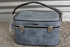 Mädler Kosmetikkoffer cosmetic case blau blue 70er True Vintage 70s beauty cases